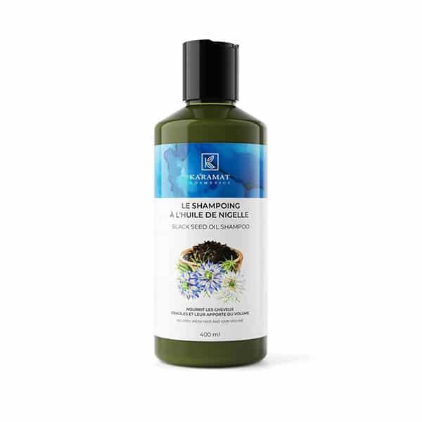 Shampoing à l'huile de nigelle 400ml - Karamat Cosmetics