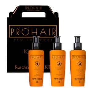 Kit de lissage brésilien à la kératine - Pro Hair Professional